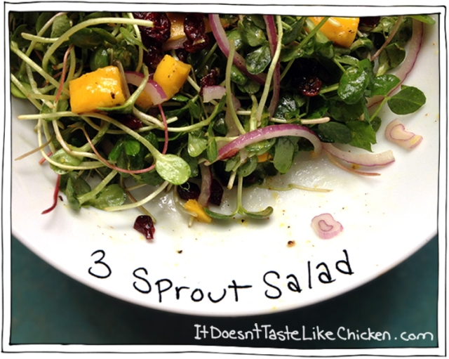 3 Sprout Salad