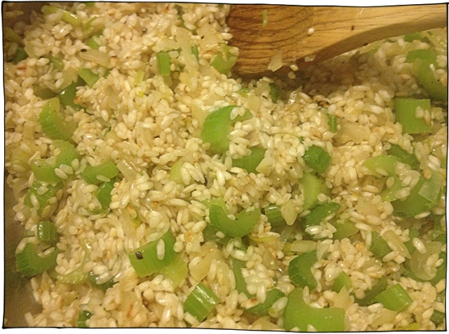 sautee rice